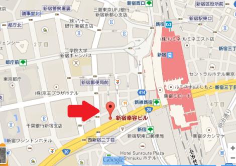 コンファレンスホール東京 地図