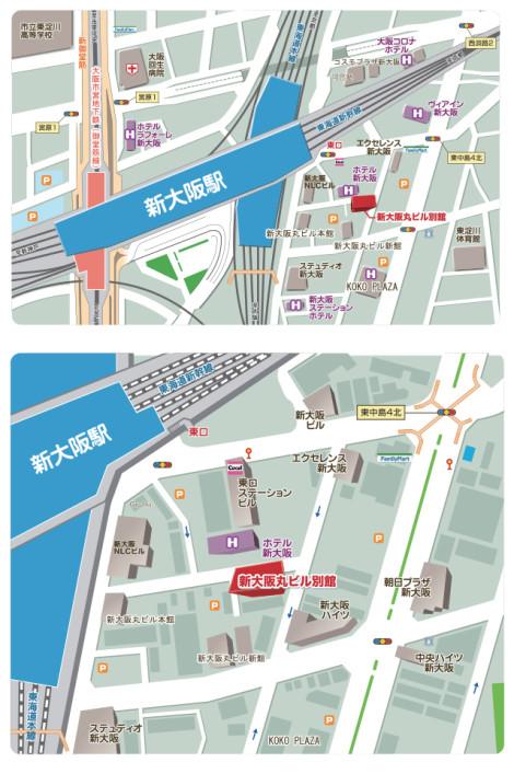 新大阪丸ビル別館地図
